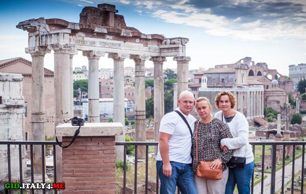 Римский форум – индивидуальная экскурсия на рассвете в Риме