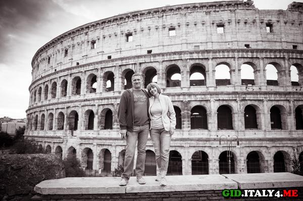 Отзыв экскурсия достопримечательности Рима на рассвете, октябрь 2015