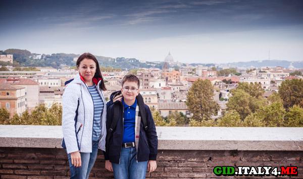 Лучшая смотровая площадка с панорамой Рима