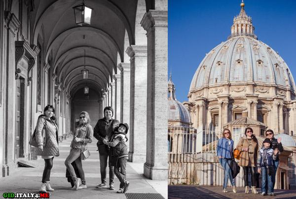Прогулка по Риму и Ватикану на рассвете с Артуром Якуцевичем