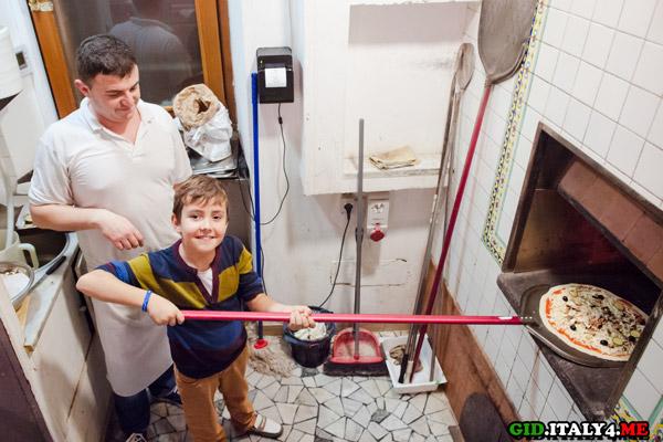 мастер-класс по пицце в Риме для детей