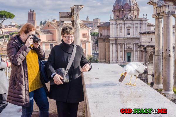 Отзыв на экскурсию Рим на рассвете Светланы Рогальской