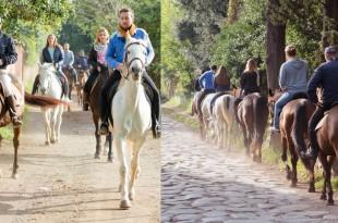 Экскурсия на лошадях по античной Аппиевой дороге в Риме
