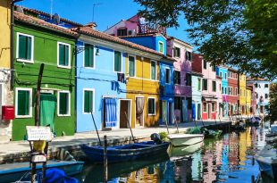 Экскурсия в Венеции на острова Бурано и Мурано