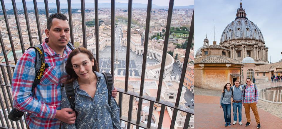 Экскурсия в Ватикан на купол святого Петра