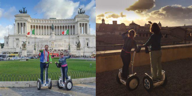 Экскурсия на сигвеях в Риме с русским гидом
