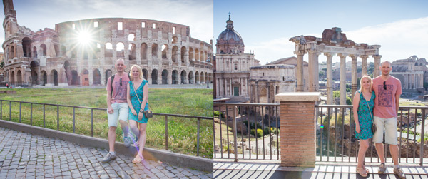 Отзыв Рим на рассвете 18 июня 2016 года