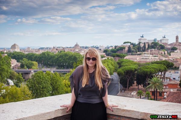 Рим на рассвете