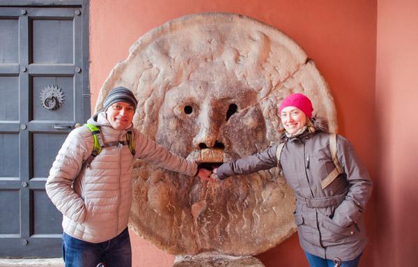 Отзыв экскурсия Рим январь 2017