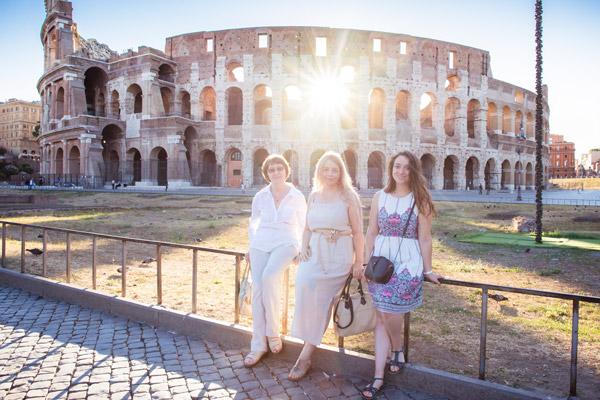 Рассвет у Колизея