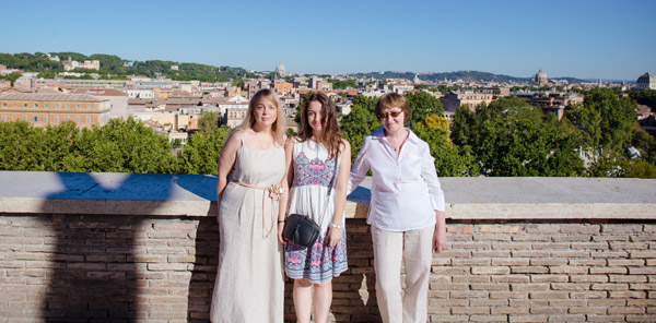 Панорама Рима