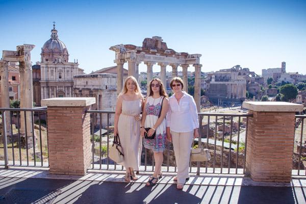Римский Форум без туристов