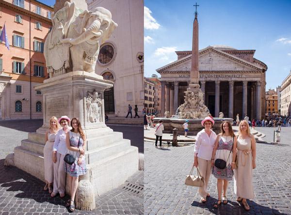 экскурсия в Риме с Артуром