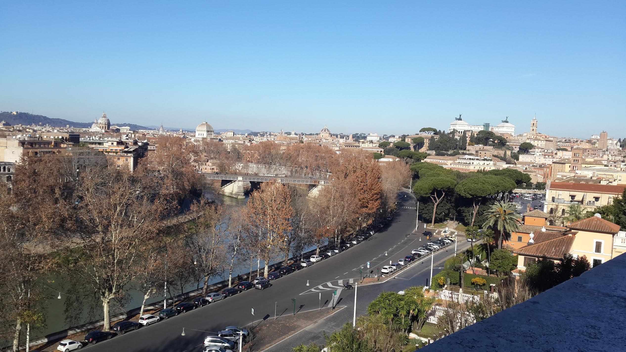 экскурсия на авто по смотровым площадкам Рима