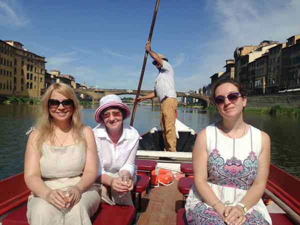 Экскурсия по реке Арно с Татьяной Шумской