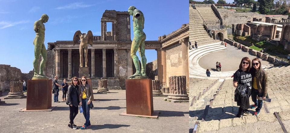 Экскурсия в Помпеи из Неаполя с гидом Мариной Григорьевой