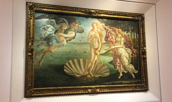 экскурсия в галерею Уффици