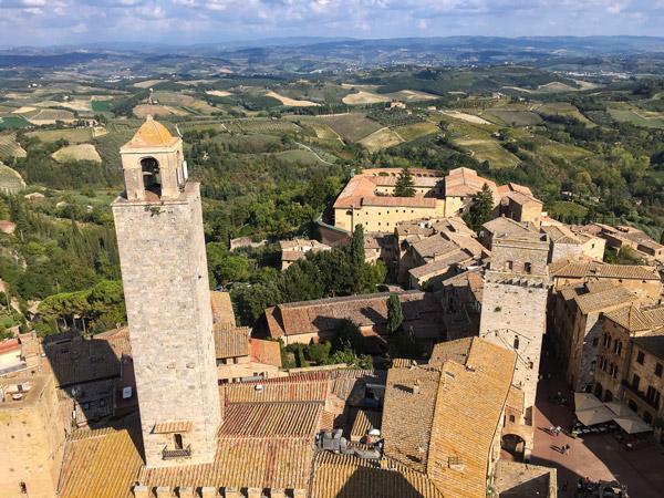 Город в Тоскане