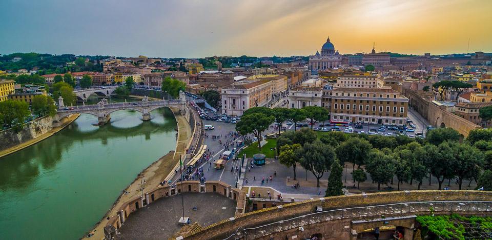 Экскурсия в Ватикан и замок святого Ангела на рассвете – подъем на купол собора святого Петра