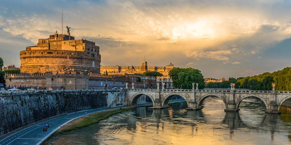 Экскурсия в замок святого Ангела в Риме
