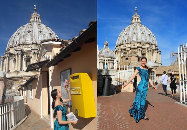 Открытки из Ватикана