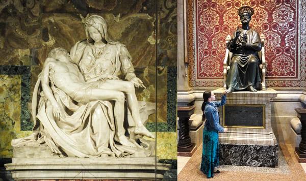 Отзыв про Пьету Микеланджело в Ватикане