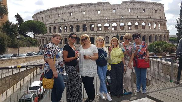 Обзорная экскурсия по Риму около Колизея