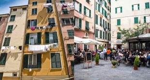 Улицы Генуи экскурсия