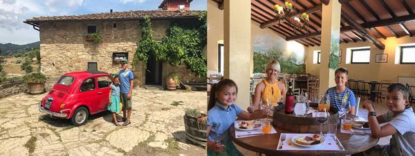 экскурсия в замок в Тоскане отзыв