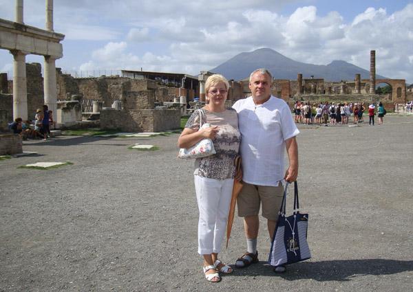 отзыв про экскурсию в Помпеи и Везувий