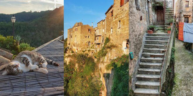 Экскурсия с Итальянцем в Калькату, Тревиньяно и озеро Браччано