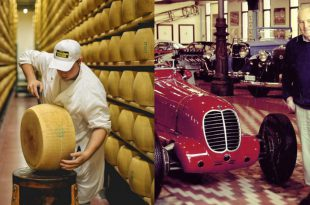 Экскурсия на производство Пармезана