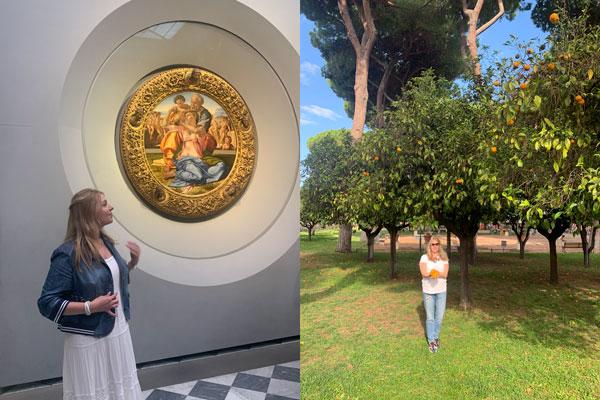 Экскурсия в галерею Уффици октябрь 2019