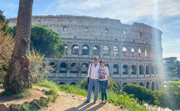Экскурсия по Риму на авто в декабре