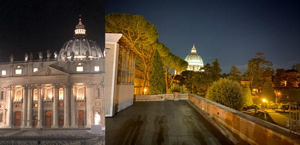 экскурсия ночью в Ватикан