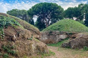 Экскурсия в этрусские некрополи из Рима